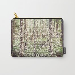 Mandala Vintage Forest Path Carry-All Pouch