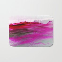 Purple Clouds Red Mountain Bath Mat