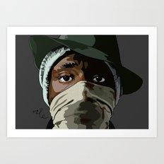 the new danger Art Print