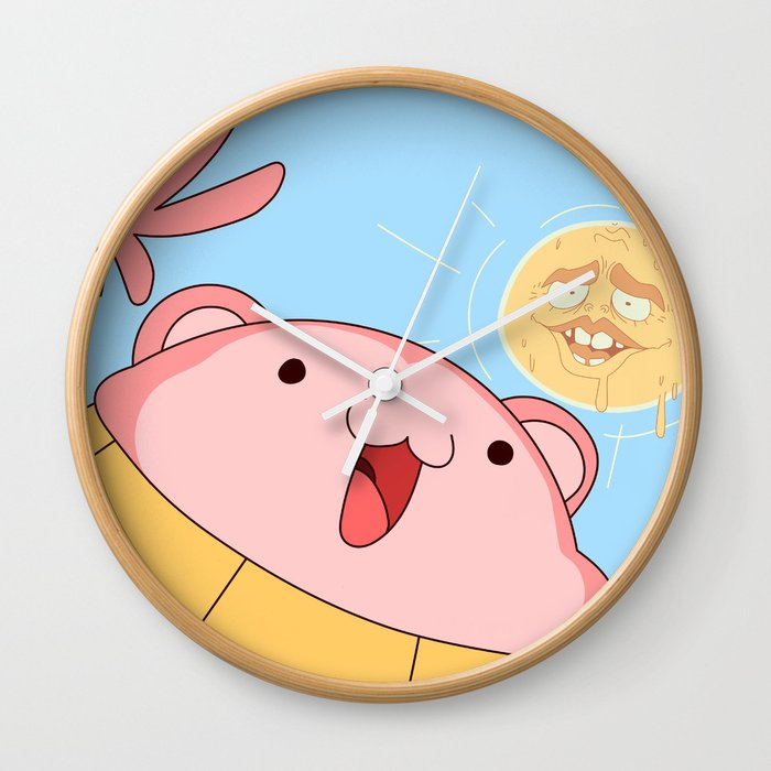 My name is Peepoodo Wall Clock