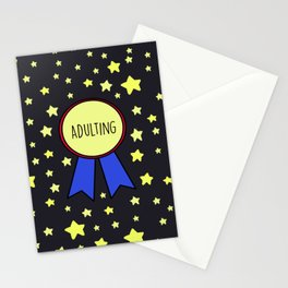 Adulting Award Stationery Cards