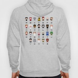 Doctor Who Alphabet Hoody