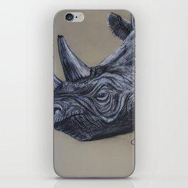 rhino tusk iPhone Skin