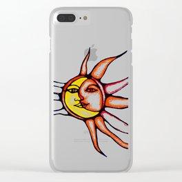 Sole luna Clear iPhone Case