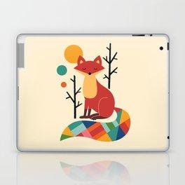 Rainbow Fox Laptop & iPad Skin