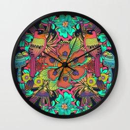 Ave de la Soledad Wall Clock