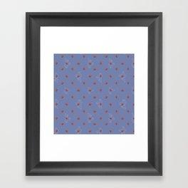Cacti Flowers Framed Art Print