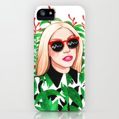 Lady and Photinia Slim Case iPhone (5, 5s)
