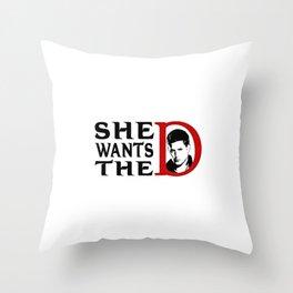 De Throw Pillow