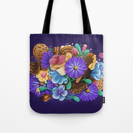 SWEETS & FLOWERS Tote Bag