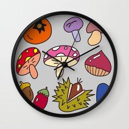 Autumn Harvest_A Wall Clock