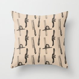 Tool Pattern Throw Pillow