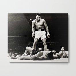 The Great Boxer Metal Print
