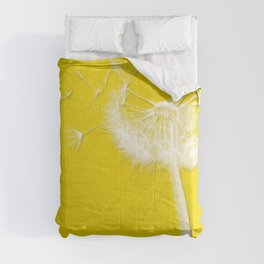 Freesia Yellow Dandelion Comforters