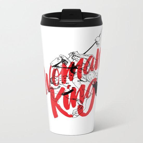 woman king Metal Travel Mug