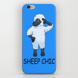 Sheep Chic iPhone Skin