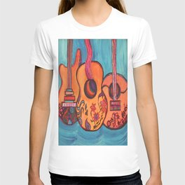 3 Guitars T-shirt