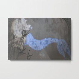Mermaid at Sea Metal Print