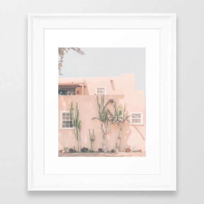 Vintage Los Angeles Framed Art Print