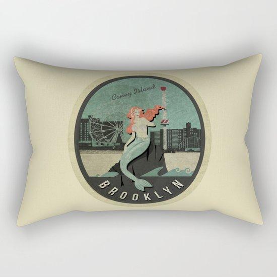 Mermaid Brooklyn Rectangular Pillow
