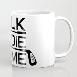 Talk Birdie To Me - Funny Golf Golfer Golfing Gift Coffee Mug