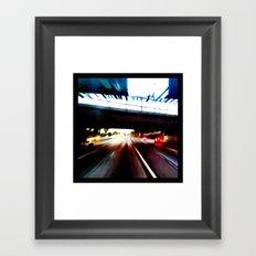 Move Forward Framed Art Print