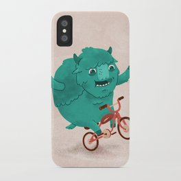 Bicycle Buffalo iPhone Case