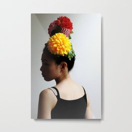 Flower Head (2) Metal Print