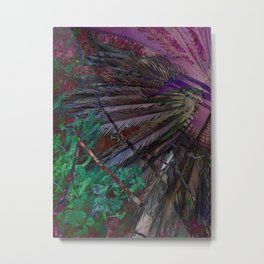 Palms of the the Patriarch Metal Print