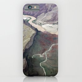 Grand Canyon bird's eye view #1 iPhone Case