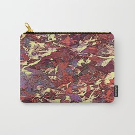 WARM AND FALLEN OAK LEAVES Carry-All Pouch