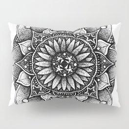 Freehand mandala #3 Pillow Sham