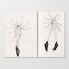 Spokes concept illustrations  Canvas Print