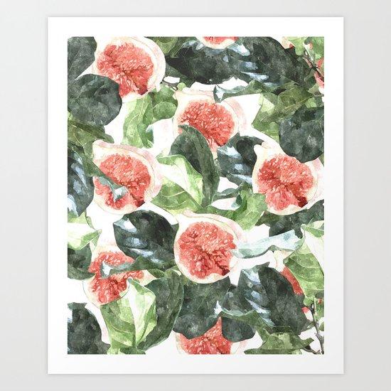 Watercolor Deliciousness #society6 #buyart #decor Art Print