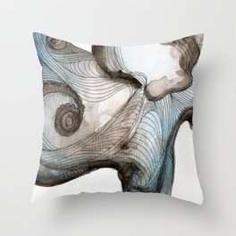 Waterbaby Throw Pillow