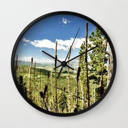 A View Behind a View Wall Clock