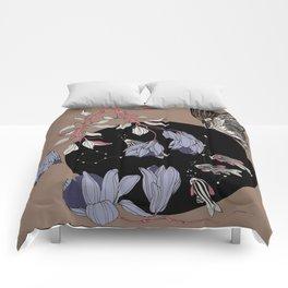 Bulle d eau céleste Comforters