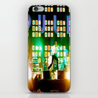 coachella iPhone & iPod Skins featuring PULP in Coachella by The Electric Blve / YenHsiang Liang