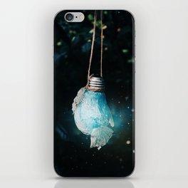birth of the light iPhone Skin