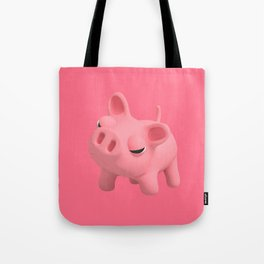 Rosa the Pig Angry Tote Bag