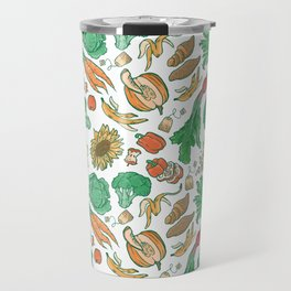 Fruits and Veggies Travel Mug
