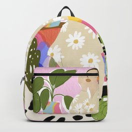 Hanging out with plants Backpack