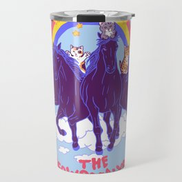 Four Horsemittens Of The Meowpocalypse Travel Mug