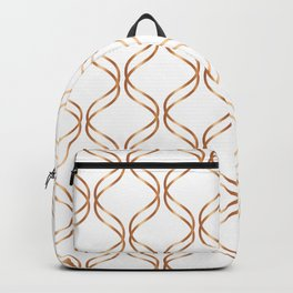 Double Helix - Rose Gold #676 Backpack
