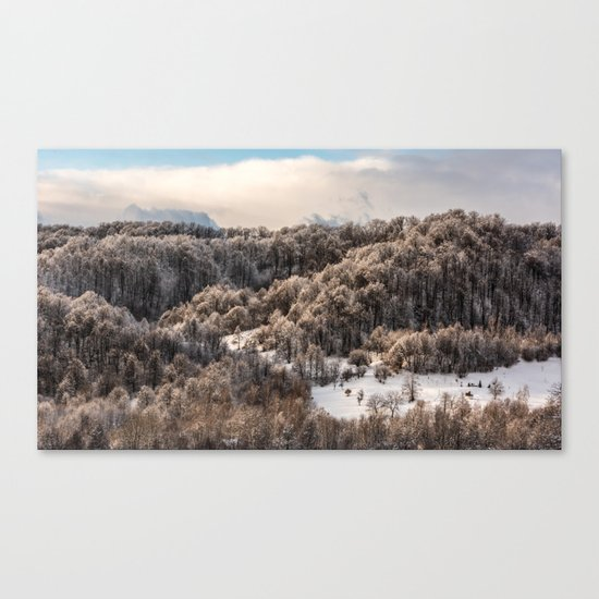 Winter Landscape 3 Canvas Print