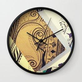 Motif Wall Clock