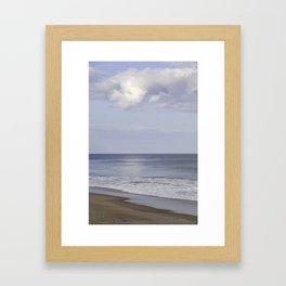 St Augustine beach Framed Art Print
