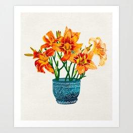Lily Blossom Art Print