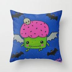 Creepcake Bat Throw Pillow