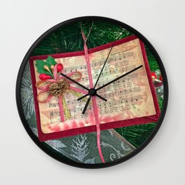 Hark the Herald Angels Wall Clock